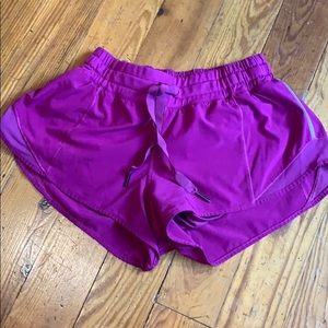 Hotty Hot Lululemon shorts size 4